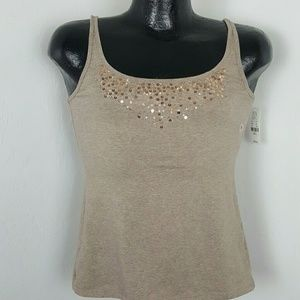 New York company light brown top size S New